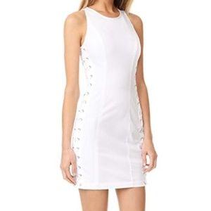 A.L.C. Valera Laced White (Hot) Twill Mini_8